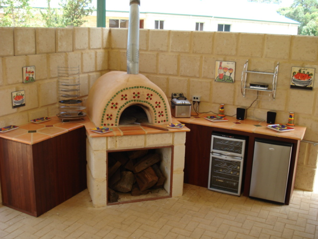 Home Wood Oven ~ Our home built wood fired pizza oven project my clever