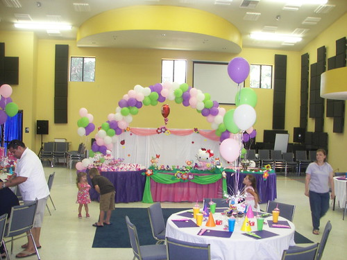Hello kitty birthday party decorations flickr photo for B day decoration ideas