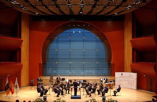 Vista del escenario de la sala sinf nica del auditorio alf - Auditorio alfredo kraus ...