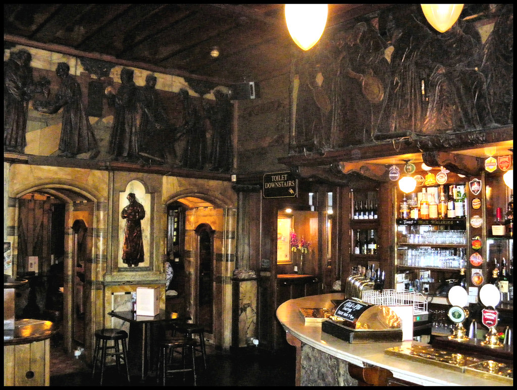 The Black Friar Pub London Ec4 Art Nouveau Interior B