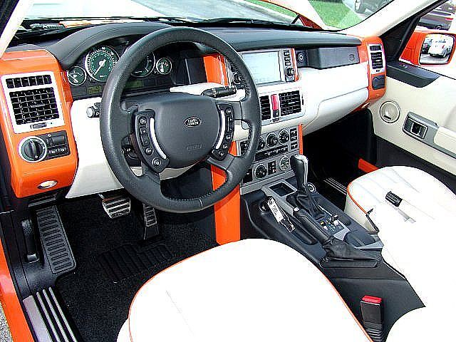 2006 Land Rover Range Rover Supercharged Inside $54,980 ...