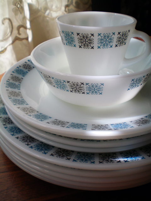 ... Thrifted JAJ (Pyrex) Chelsea Dishes   by juliezryan & Thrifted: JAJ (Pyrex) Chelsea Dishes   Found at local charit\u2026   Flickr
