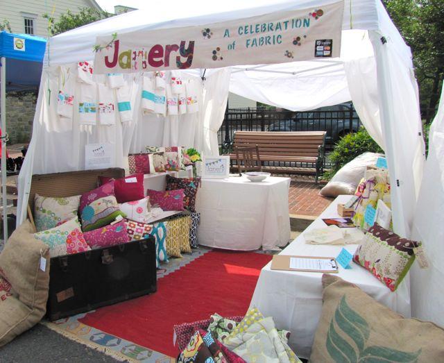 Craft Fair Booth Setup Ideas