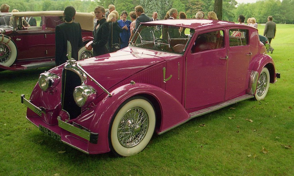 All Car Company >> 1936 Avions Voisin | Fancy cars and fancy women. The dinner … | Flickr