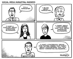 Social Media Marketing Madness Cartoon by HubSpot | by HubSpot