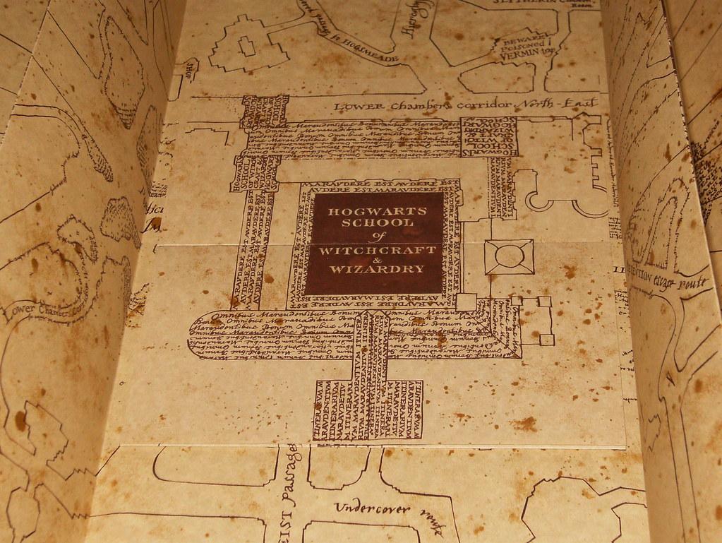 Cinderella Castle Floor Plan Exact Replica Of The Marauders Map Cutiepie1998 Flickr