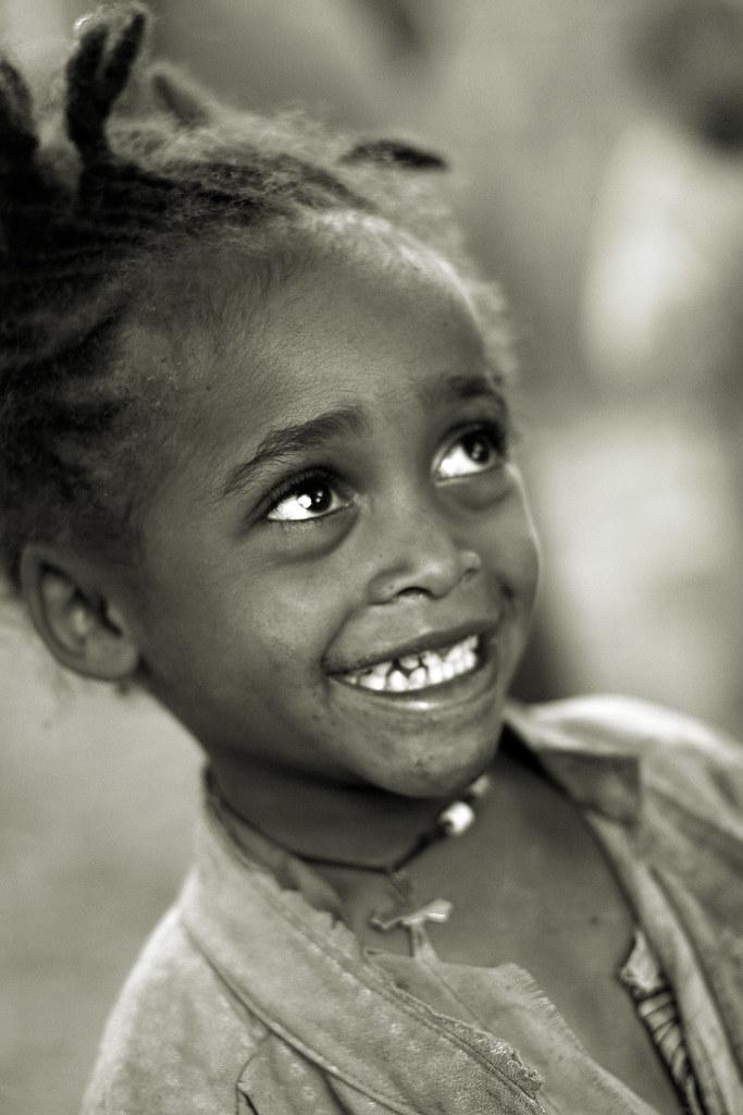 Ethiopia, Dorze Girl  Ethiopia, Young Girl In A Dorze -3449