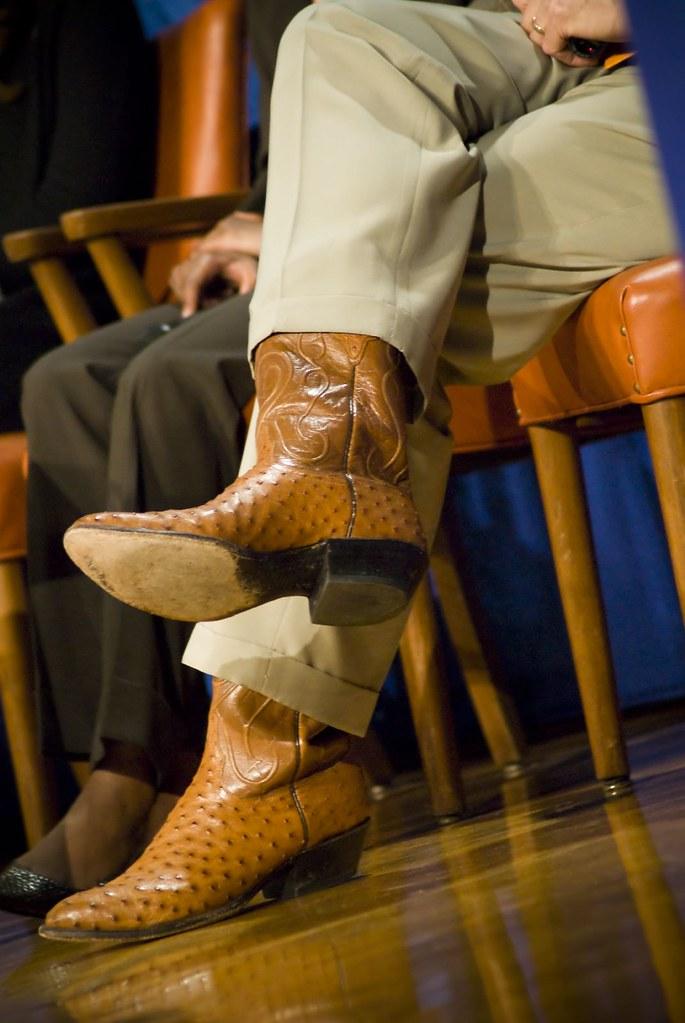 Bill Clinton S Cowboy Boots Clinton Global Initiative