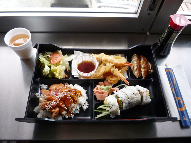 urban sushi deluxe bento box flickr photo sharing. Black Bedroom Furniture Sets. Home Design Ideas