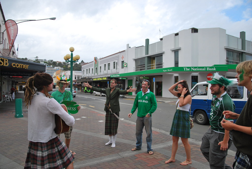 St Patrick's Day - Napier - Hawke's Bay - New Zealand