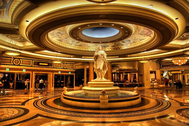 The Inside Of Caesars Palace Las Vegas Hotel Casino Flickr