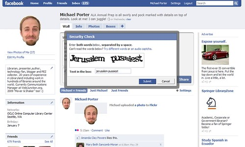 how to change photo security on facebook