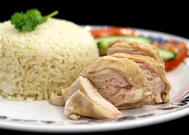 Hainanese Chicken Rice   Flickr - Photo Sharing!
