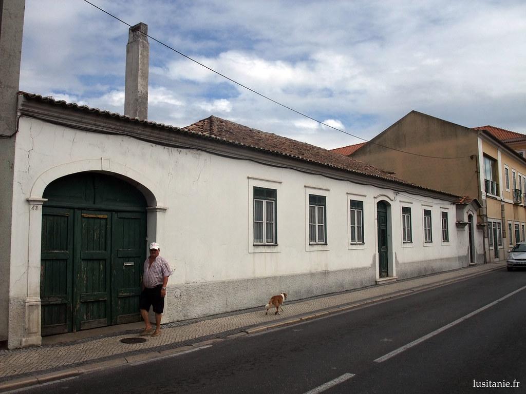 Longue rue de Marinha Grande