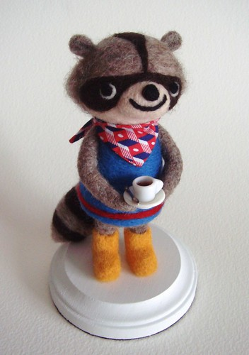 West Seattle Raccoon | by feltmates!