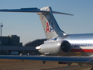 American Airlines MD-83 - Tail | by randomduck