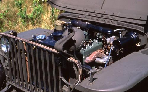 1942 Willys Mb Slat Grill Jeep L Head 4 Cylinder Richard