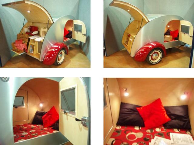 cool vintage retro micro caravan cool vintage retro mi flickr. Black Bedroom Furniture Sets. Home Design Ideas