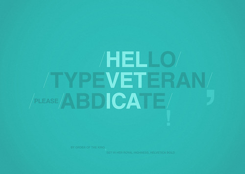 Type Veteran | by Radu Ceucă