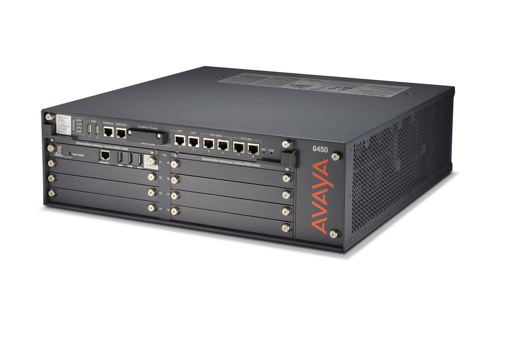 Avaya G450 Media Gateway The Avaya G450 Media Gateway