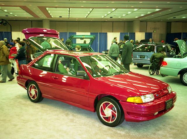 1994 ford escort gt motor trend international auto show. Black Bedroom Furniture Sets. Home Design Ideas
