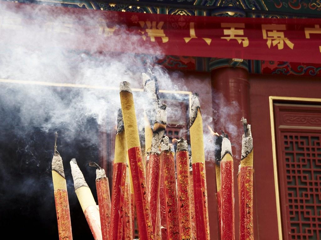Burning Incense In A Dorm Room