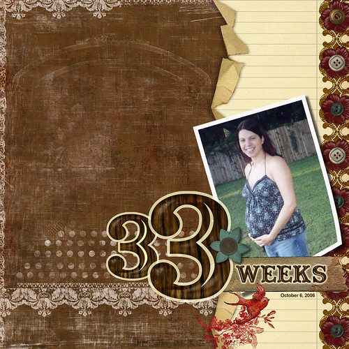 33  Weeks Pregnant | by CreativeBrainBuzz