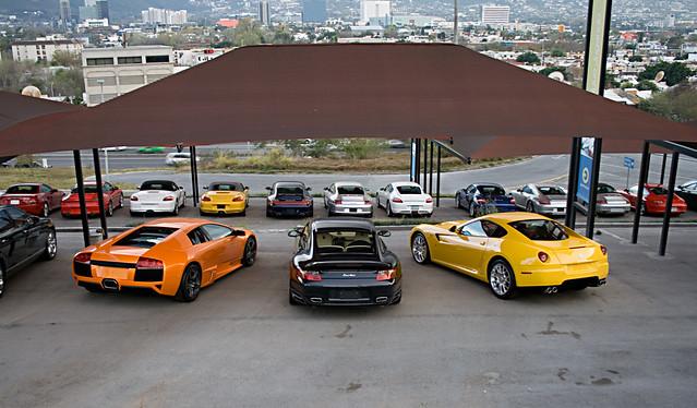 Lamborghini murcielago lp640 vs ferrari 599 gtb