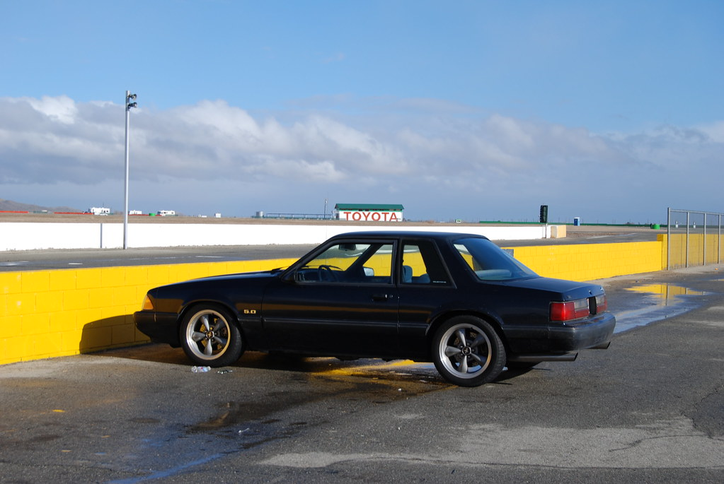 Fox Body Wheels >> FORD MUSTANG 5.0 LX FOXBODY COUPE with BULLITT WHEELS   Flickr
