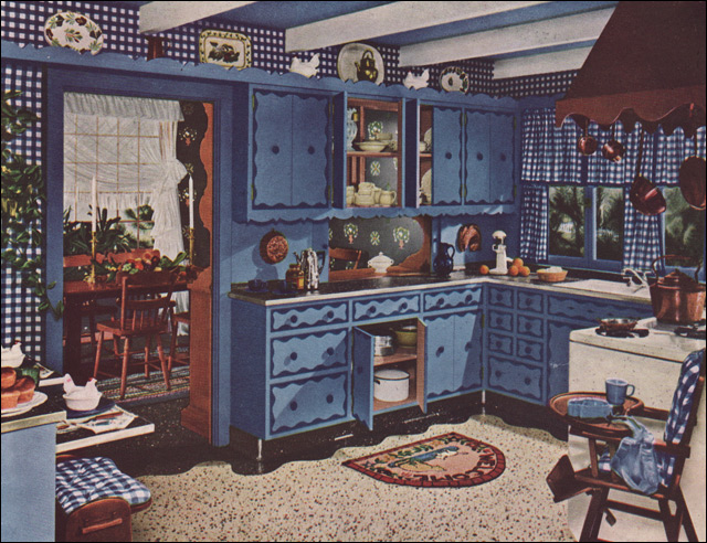 1949 Armstrong Colonial Kitchen | 1949 Was A Big Year For Co… | Flickr