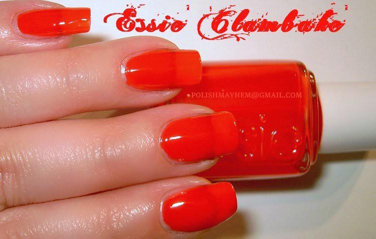 Essie Clambake Essie Clambake ...