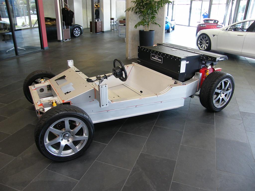 Tesla Roadster Chassis Tom Donohue Flickr