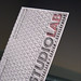 Studio Lab Letterpress Business Cards - Logo Closeup