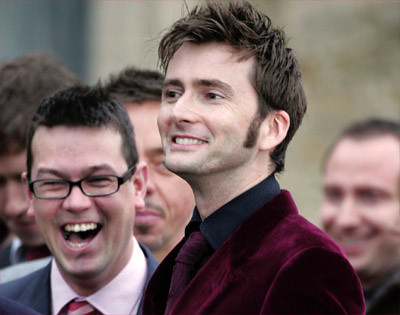 David Tennant at Billie Piper's wedding | WORLD RIGHTS ...
