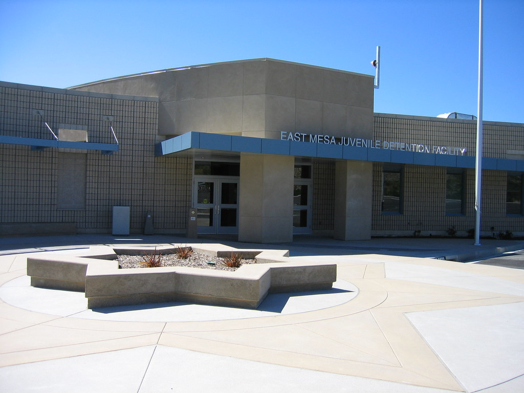 East Mesa Front East Mesa Juvenile Detention Facility