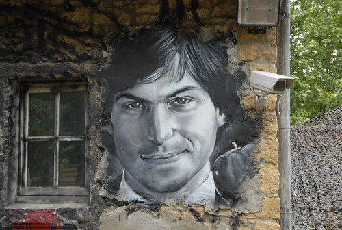 Steve Jobs painted portrait _DDC7953