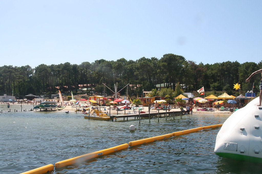 La plage de l 39 idylle cafe l 39 aquapark de biscarrosse est - Restaurant enfant bordeaux ...