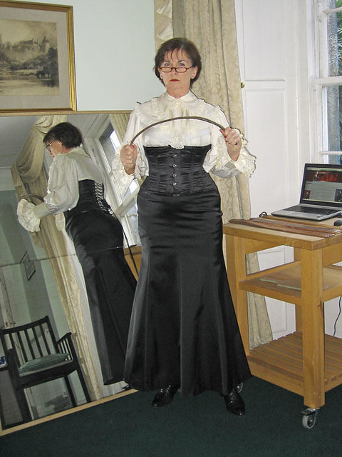 Mistress Margaron  Her Pretty Frilly Lace Blouse 1A  Flickr-1648