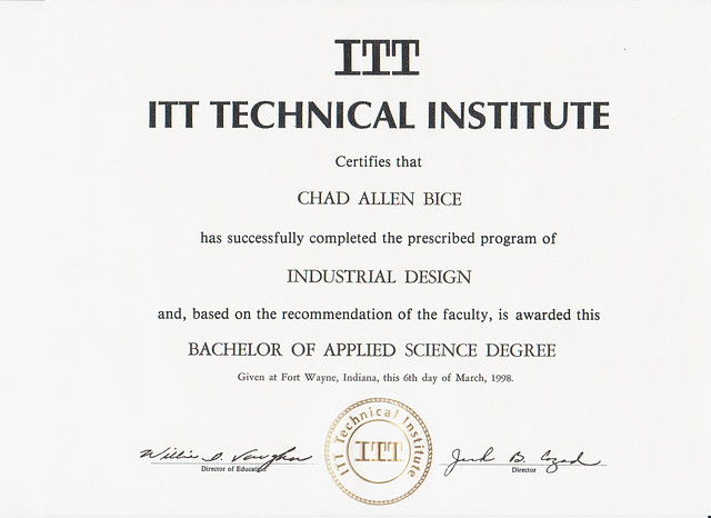 itt tech bachelors industrial design flickr photo sharing