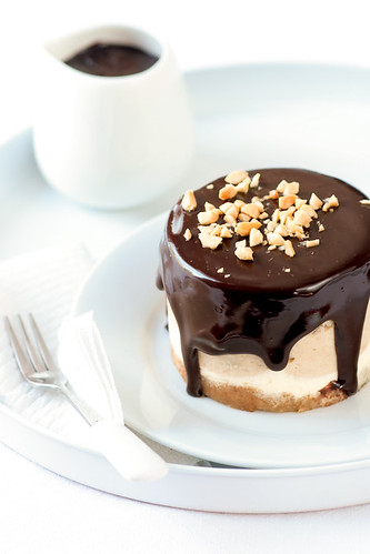 Peanut Butter & Chocolate Cheesecake | by tartelette
