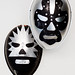 two new luchadores masks for Friday night's San Jose show