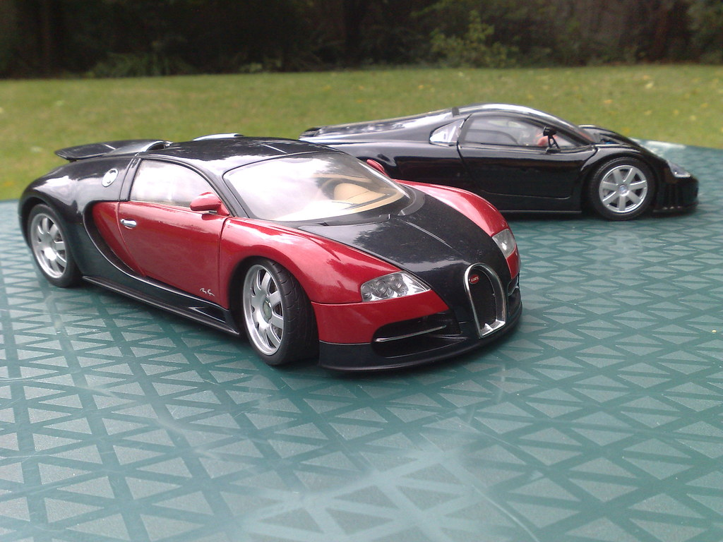bugatti veyron test car modded 1 18 autoart vw narda w flickr. Black Bedroom Furniture Sets. Home Design Ideas