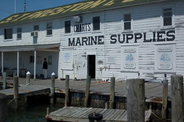 Greenport Long Island High Tide