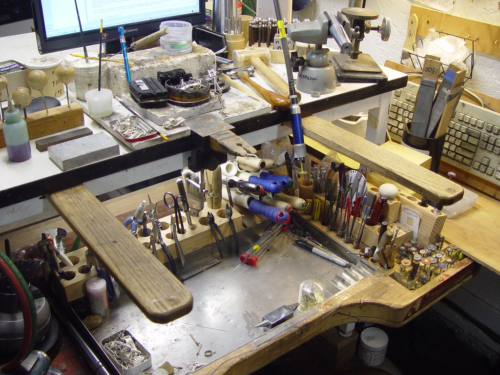 Gary 39 S Homemade Jeweler 39 S Workbench Gary 39 S Home Made Jewel Flickr