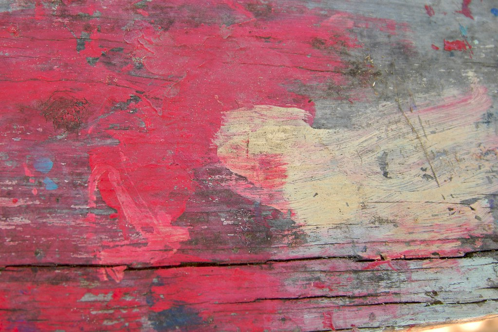 Red Painted Wood Texture This Is Free To Use As A