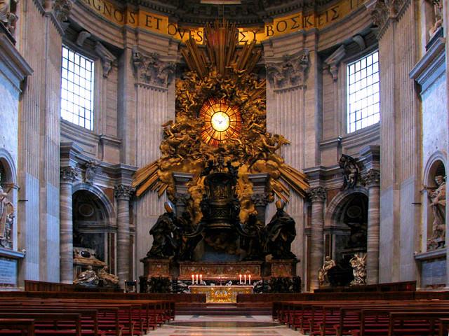 Basilica Altar | St. Peter's Basilica Vatican City Rome ...