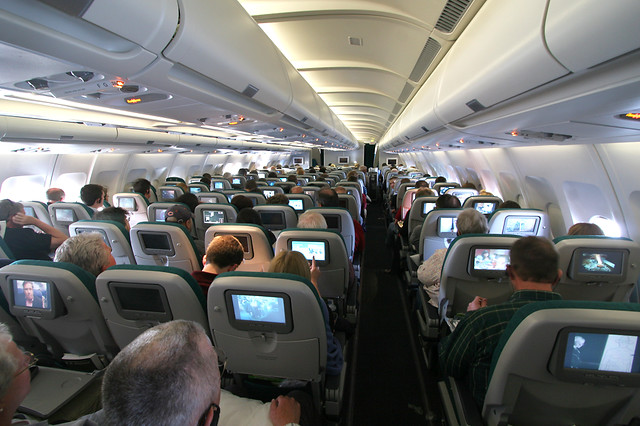 Cabin Of Aer Lingus A330 200 Ei Daa Brian Futterman Flickr