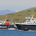 The LOTI and ISLE OF MULL in Oban Bay