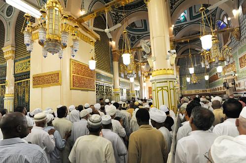 Makam Nabi Muhammad S.A.W | Beginilah susana orang ramai