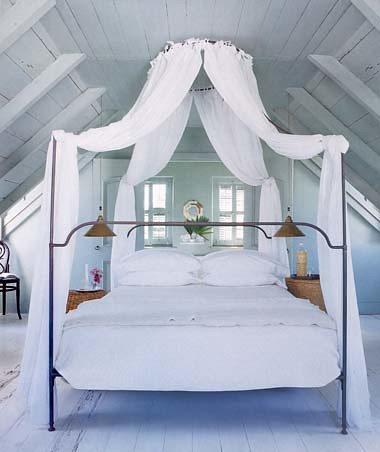 White canopy bed ashley flickr for White bedroom canopy
